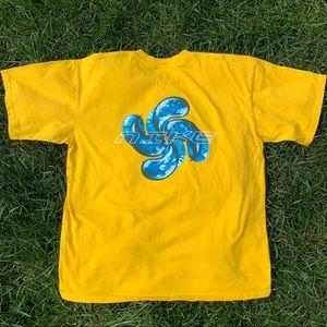 RARE Vintage Nike Water Pinwheel Graphic T-Shirt